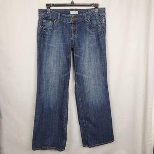 Lane Bryant Venezia sz 16 wide leg trouser jeans